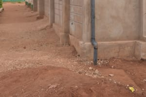 The Water Project: Kituluni Primary School -  Guttering For Collecting Water
