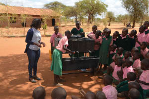 The Water Project: Kituluni Primary School -  Handwashing Demonstration