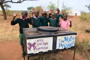 The Water Project: Kituluni Primary School -  Handwashing Station