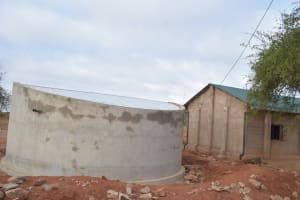 The Water Project: Kituluni Primary School -  Tank And School Building