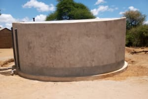 The Water Project: Kakunike Primary School -  Cement Drying