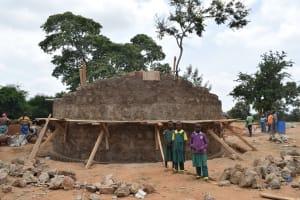 The Water Project: Kakunike Primary School -  Construction