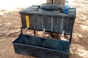 The Water Project: Kakunike Primary School -  New Handwashing Station