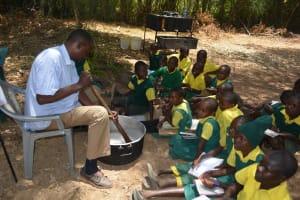 The Water Project: Kakunike Primary School -  Soapmaking