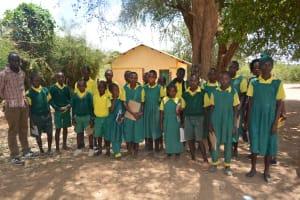The Water Project: Kakunike Primary School -  Student Demonstration