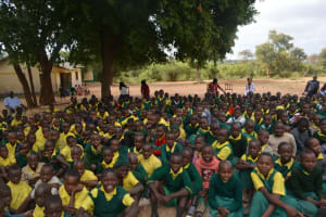 The Water Project: Kakunike Primary School -  Students At The Training