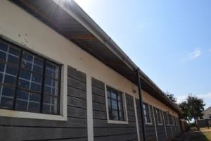 The Water Project: Kalulini Boys' Secondary School -  Gutters For Collecting Water