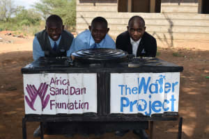 The Water Project: Kalulini Boys' Secondary School -  Handwashing Station