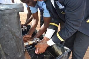 The Water Project: Kalulini Boys' Secondary School -  Handwashing