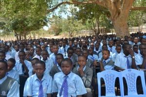 The Water Project: Kalulini Boys' Secondary School -  Students At The Training