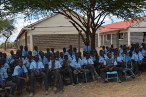 The Water Project: Kalulini Boys' Secondary School -  Students At Training