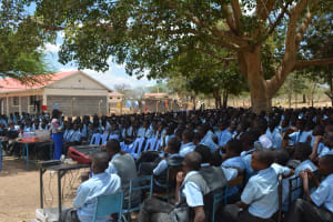 The Water Project: Kalulini Boys' Secondary School -  Training