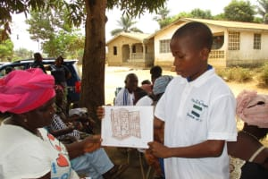 The Water Project: Tholmossor, Amputee Camp -  Child Training Demonstrator