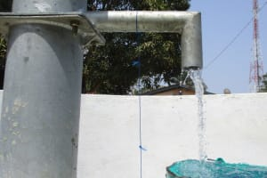 The Water Project: Tholmossor, Amputee Camp -  Clean Water Flowing