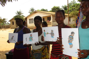 The Water Project: Tholmossor, Amputee Camp -  Training Posters