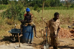 The Water Project: Kimigi Kyamatama Community -  Construction