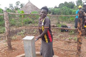 The Water Project: Kimigi Kyamatama Community -  Katusabe Jane