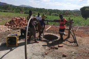The Water Project: Kimigi Kyamatama Community -  Recharge Analysis