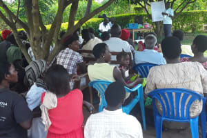 The Water Project: Kimigi Kyamatama Community -  Training