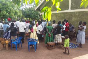 The Water Project: Kimigi Kyamatama Community -  Training Attendees
