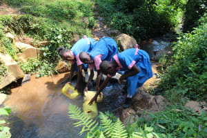 The Water Project: Irovo Orphanage Academy -  Three Students Can Fill Up At Once