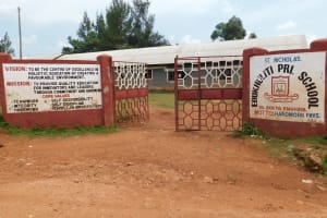 The Water Project: Ebukhuliti Primary School -  Ebukhuliti Primary School Gate