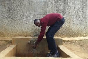 The Water Project: Essong'olo Secondary School -  Enos Omsalaba