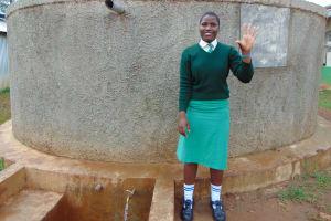 The Water Project: Injira Secondary School -  Cynthia Luyai
