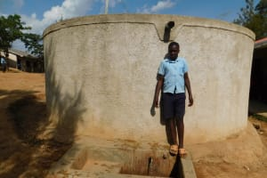 The Water Project: Kenneth Marende Primary School -  Student Dickson Andafu