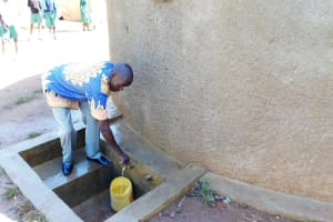 The Water Project: Bushili Primary School -  Head Teacher Mr Ronald Mashishia