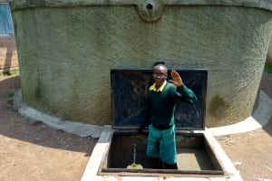 The Water Project: Jidereri Primary School -  Abraham Were