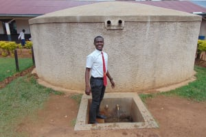 The Water Project: Imusutsu High School -  Student Stands Proud