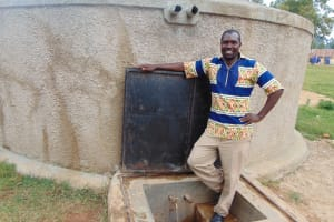 The Water Project: Kamuluguywa Secondary School -  Mr Eric Nambisia