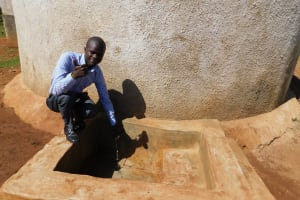 The Water Project: Sipande Secondary School -  Sanitation Teacher Mr Kelvin Namasaka