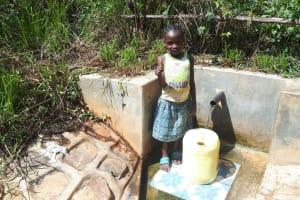 The Water Project: Elukani Community, Ongari Spring -  Dorine Amwayi