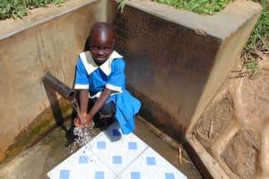 The Water Project: Mwituwa Community, Shikunyi Spring -  Christine Mugala