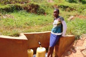 The Water Project: Lwangele Community, Machayo Spring -  Pamela Emere