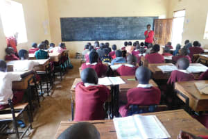 The Water Project: Ebukhuliti Primary School -  Students In Class