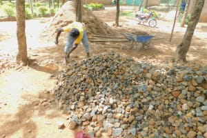The Water Project: Makunga Primary School -  Preparation Of Materials