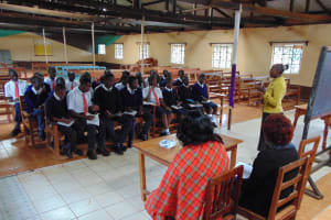 The Water Project: Ikumba Secondary School -  Training Begins
