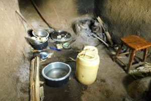 The Water Project: Kapkures Primary School -  Inside The Kitchen