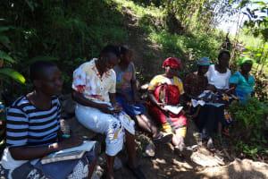 The Water Project: Eshikhugula Community, Shaban Opuka Spring -  Training Begins