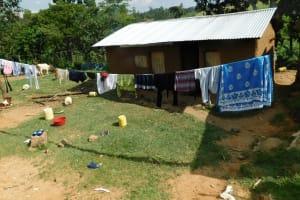 The Water Project: Emurumba Community, Makokha Spring -  Clothesline