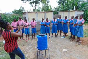 The Water Project: Irovo Orphanage Academy -  Handwashing Demonstration