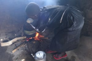 The Water Project: Mwichina Primary School -  Fireplace For Cooking
