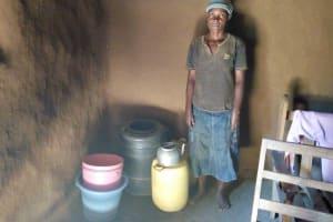 The Water Project: Sambaka Community, Sambaka Spring -  Inside Community Members House