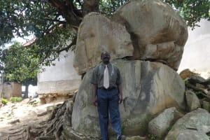 The Water Project: Mwichina Primary School -  Head Teacher Mr Silas Ominde