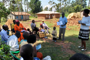 The Water Project: Shihingo Community, Inzuka Spring -  Active Participation