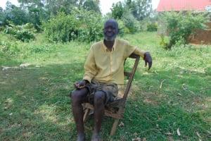 The Water Project: Munenga Community, Francis Were Spring -  Francis Mwani