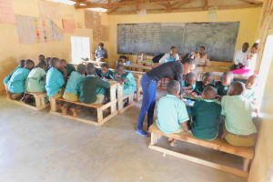 The Water Project: Makunga Primary School -  Training Activity Group Discussion